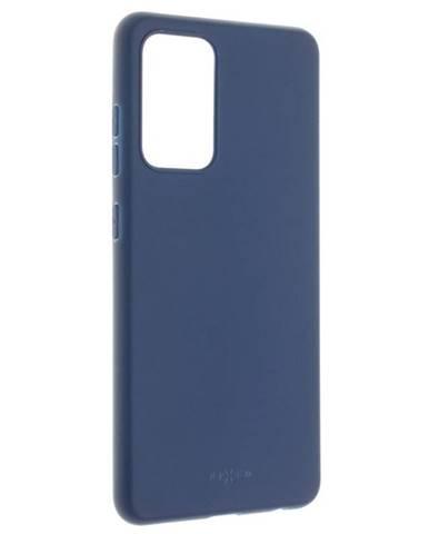 Kryt na mobil Fixed Story na Samsung Galaxy A52/A52 5G modrý