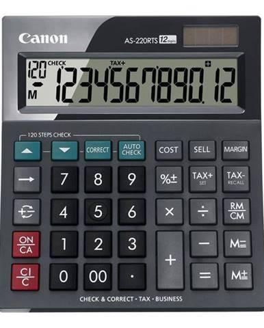 Kalkulačka Canon AS-220RTS čierna