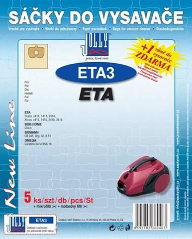 Sáčky pre vysávače Jolly ETA 3