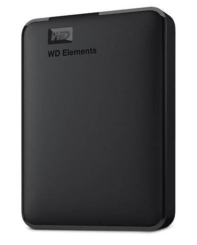 Externý pevný disk Western Digital Elements Portable 4TB čierny