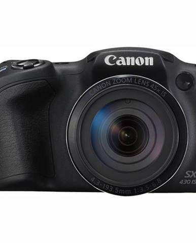 Digitálny fotoaparát Canon PowerShot SX430 IS čierny