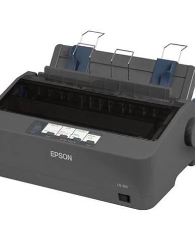 Tlačiareň ihličková Epson LQ-350 čierna 347 zn/s, LPT, USB