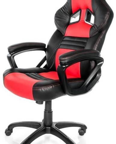 Herná stolička Arozzi Monza čierna/červená