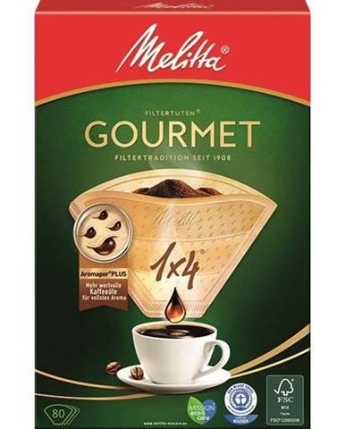 Filter Melitta Gourmet 1x4 80 ks