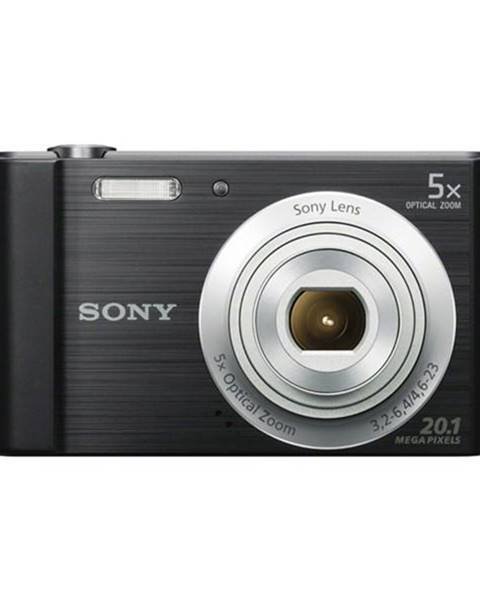 Sony Digitálny fotoaparát Sony DSC-W800B čierny