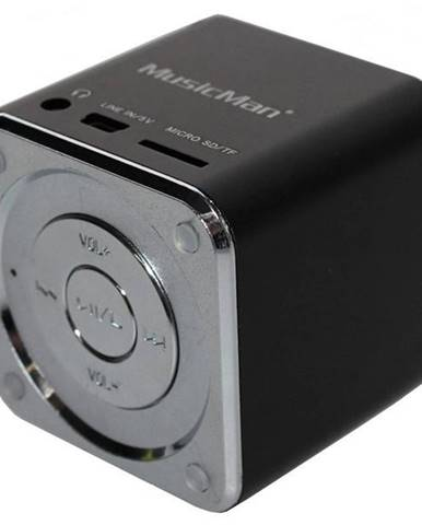 Prenosný reproduktor Technaxx Mini MusicMan čierny