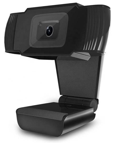 Powerton Webkamera Powerton Pwcam1, 720p čierna