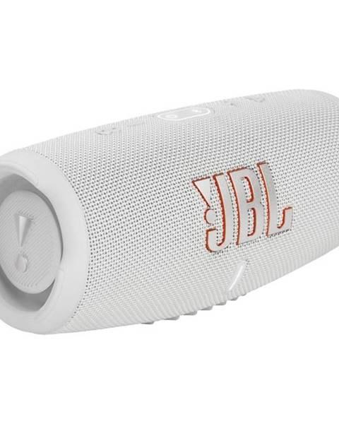 JBL Prenosný reproduktor JBL Charge 5 biely