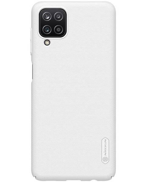 Nillkin Kryt na mobil Nillkin Super Frosted na Samsung Galaxy A12 biely