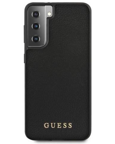 Kryt na mobil Guess Iridescent na Samsung Galaxy S21 5G čierny