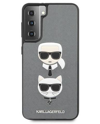 Kryt na mobil Karl Lagerfeld Saffiano K&C Heads na Samsung Galaxy