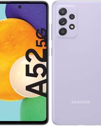 Mobilný telefón Samsung Galaxy A52 5G fialový