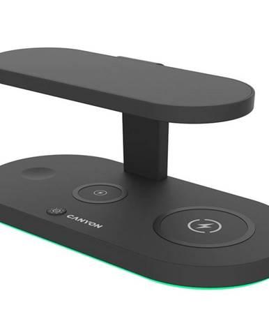 Bezdrôtová nabíjačka Canyon 5v1 pro telefon, Apple Watch, Airpods,