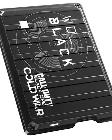Externý pevný disk Western Digital Black P10 Game Drive 2TB Cold