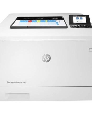 Tlačiareň laserová HP Color LaserJet Enterprise M455dn biely