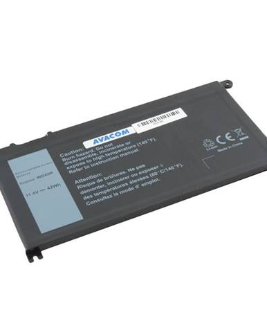 Batéria Avacom Dell Inspiron 15 5568, 13 5368 Li-Ion 11,4V 3684mAh