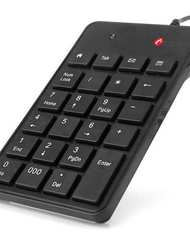 Klávesnica C-Tech KBN-01, numerická čierna