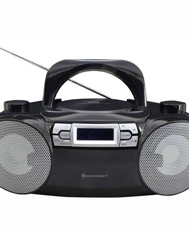 Rádioprijímač s DAB+ Soundmaster Scd8100sw čierny