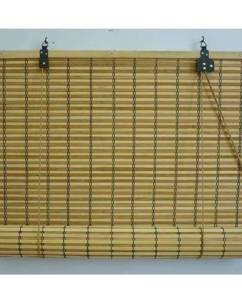 Gardinia Gardinia Roleta bambusová JAVA prír./čokoláda, 140 x 160 cm