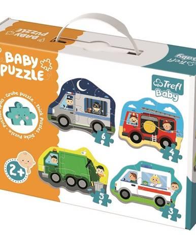 Trefl Baby Dopravné prostriedky 4v1