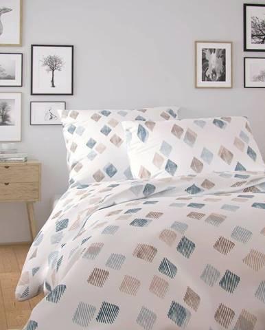 Kvalitex Bavlnené obliečky Nordic Agnes biela, 140 x 220 cm, 70 x 90 cm