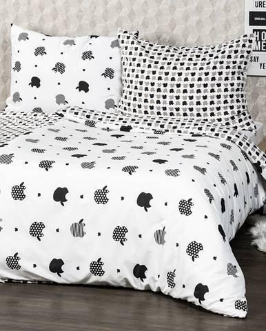 4Home obliečky Appletime micro , 220 x 200 cm, 2 ks 70 x 90 cm