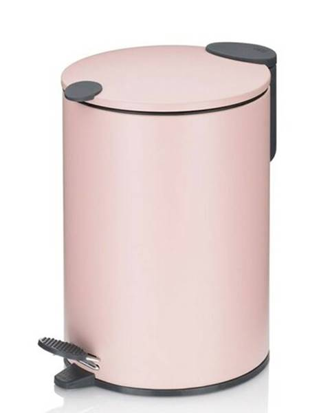 KELA Kela Kozmetický odpadkový kôš MATS 3 l, ružová