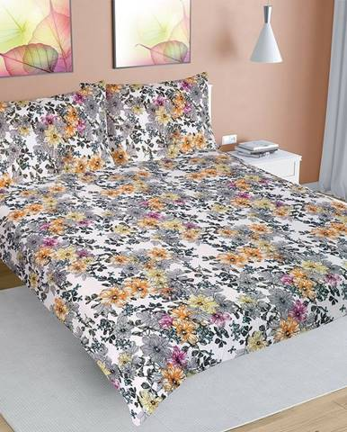 Bellatex Krepové obliečky Lúka, 240 x 220 cm, 2 ks 70 x 90 cm