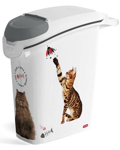 CURVER kontajner na suché krmivo 10kg mačka 03882-L30