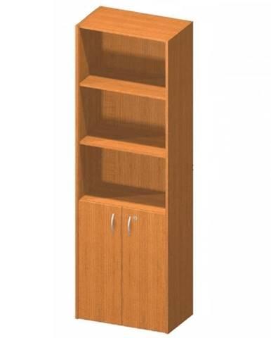 Kancelárska skrinka so zámkom čerešňa TEMPO ASISTENT NEW 002