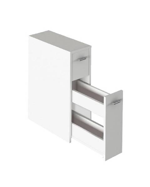 Kondela Kúpeľňová skrinka biela NATALI TYP 7