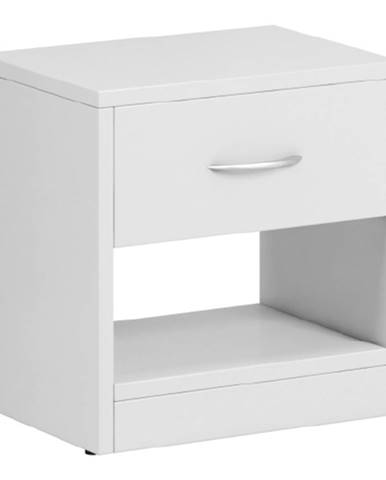 Nočný stolík biela NEA