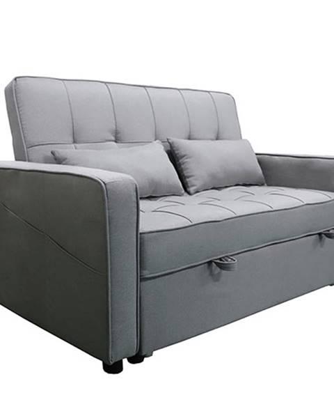 Kondela Rozkladacia pohovka sivá FRENKA BIG BED NEW