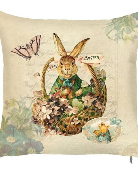 Apolena Obliečka na vankúš Apolena Easter Rabbit, 43×43cm