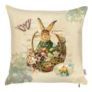 Obliečka na vankúš Apolena Easter Rabbit, 43×43cm