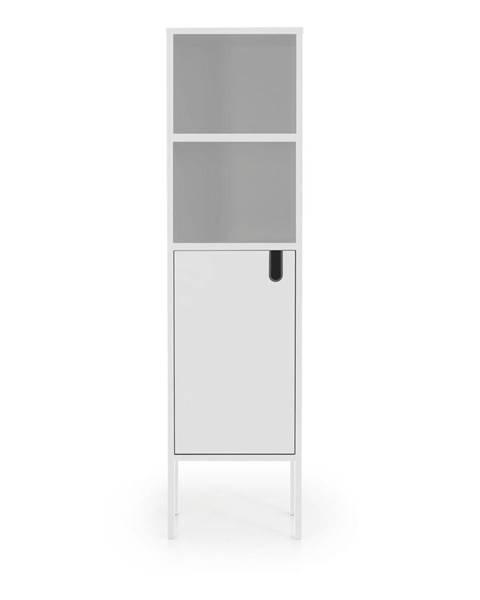 Tenzo Biela skriňa Tenzo Uno, výška 152 cm