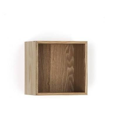 Drevená polička Tomasucci Billa, 20×15×20 cm