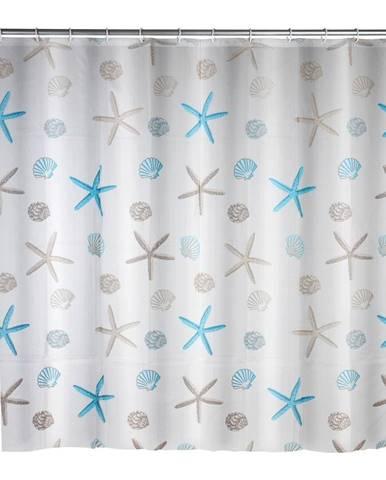 Sprchový záves Wenko Bella Mare, 180×200 cm