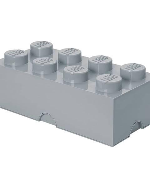 LEGO® Sivý úložný box LEGO®