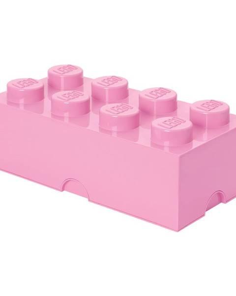 LEGO® Svetloružový úložný box LEGO®