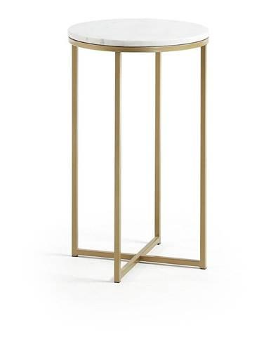 Odkladací stolík La Forma Shefield, ø 43 cm