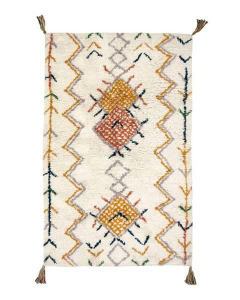 Nattiot Bavlnený koberec Nattiot Trishna, 100×160 cm