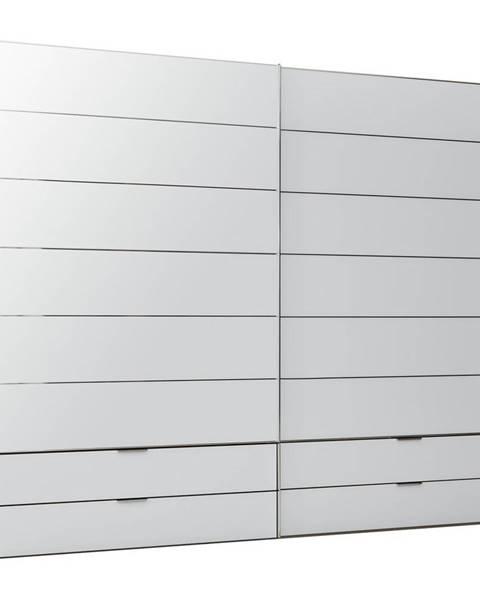 Dieter Knoll Dieter Knoll SKRIŇA S POSUVNÝMI DVERMI, biela, 278/222/68 cm - biela