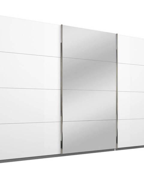 Xora Xora SKRIŇA S POSUVNÝMI DVERAMI, biela, 271/210/62 cm - biela