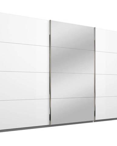Xora SKRIŇA S POSUVNÝMI DVERMI, biela, 271/210/62 cm - biela