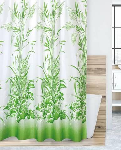 Bellatex Sprchový záves Tráva zelená, 180 x 200 cm