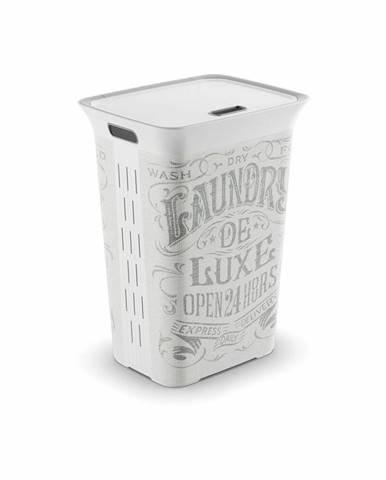 KIS Koš na prádlo Chic Hamper Laundry bag, 60L 006710WHGLLB