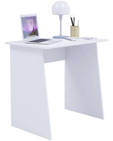 Písací Stôl V Bielej Farbe Masola Mini 80cm Biely