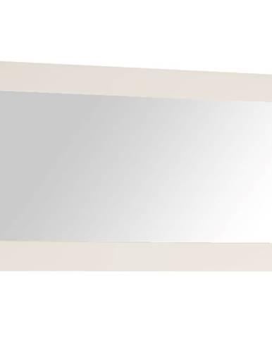 Zrkadlo malé biela extra vysoký lesk HG LYNATET TYP 122
