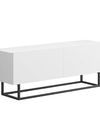 RTV stolík bez podstavy biela SPRING ERTV120